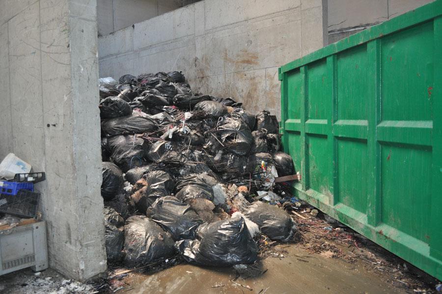rifiuti da processare