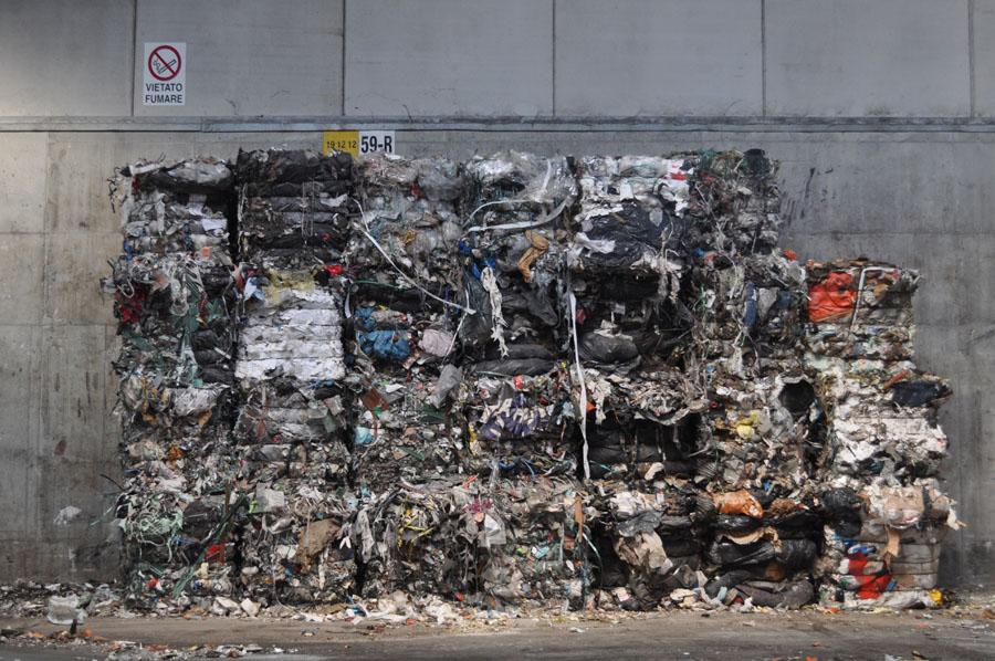 rifiuti triturati