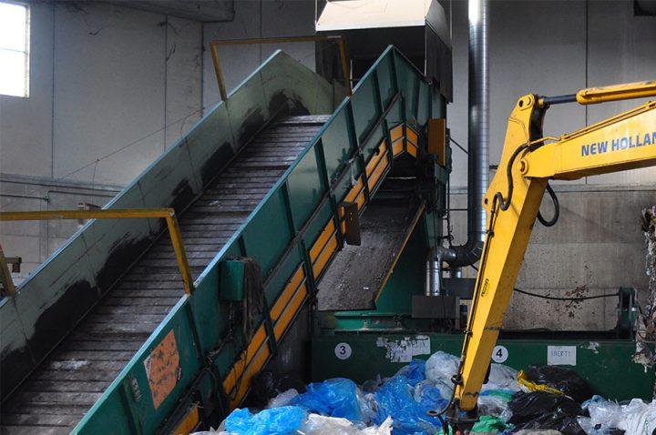 Triturazione rifiuti